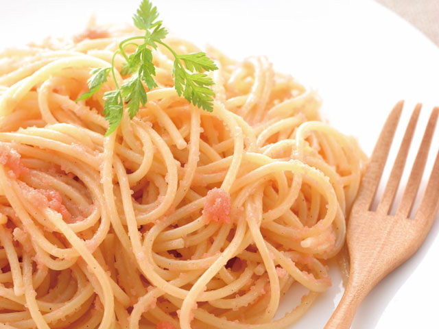 美味しそうなたらこパスタ・スパゲッティー